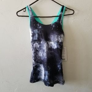 NWT Galaxy / Horoscope Workout Tank Top